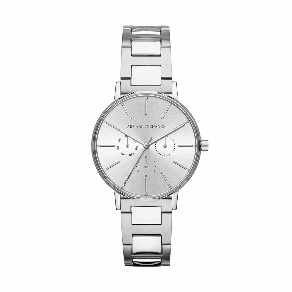 Armani Exchange Lola Analog Silver Dial Women's Watch - AX5551