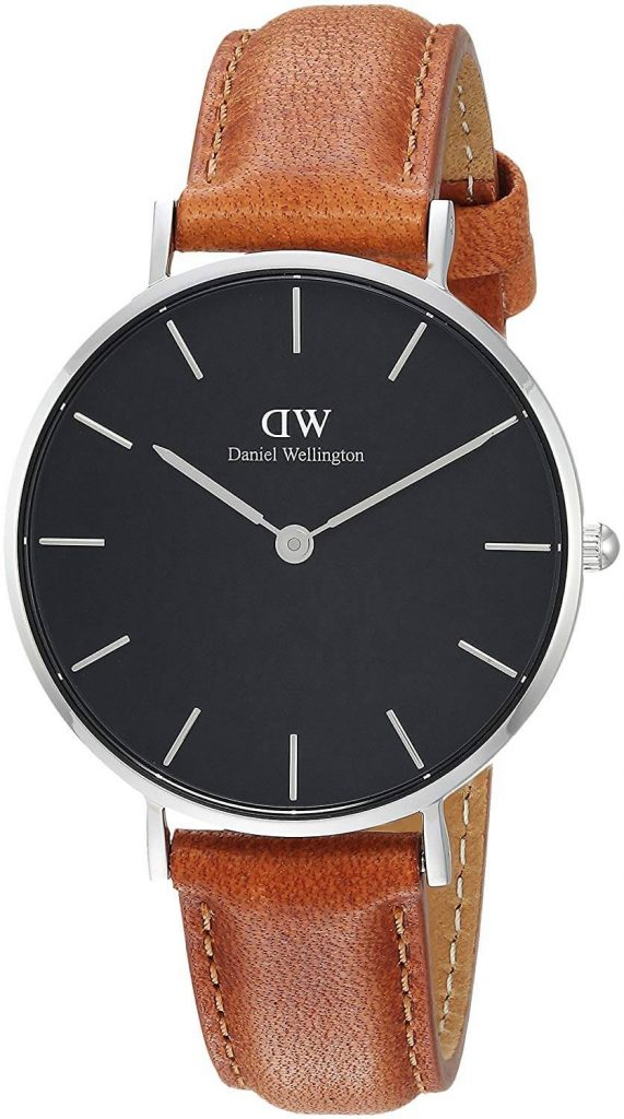 Daniel Wellington Classic Petite Analog Black Dial Women's Watch - DW00100178