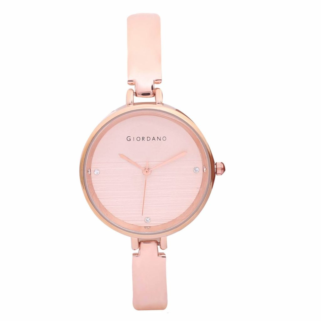 Giordano Analog Pink Dial Women's Watch-C2156-33