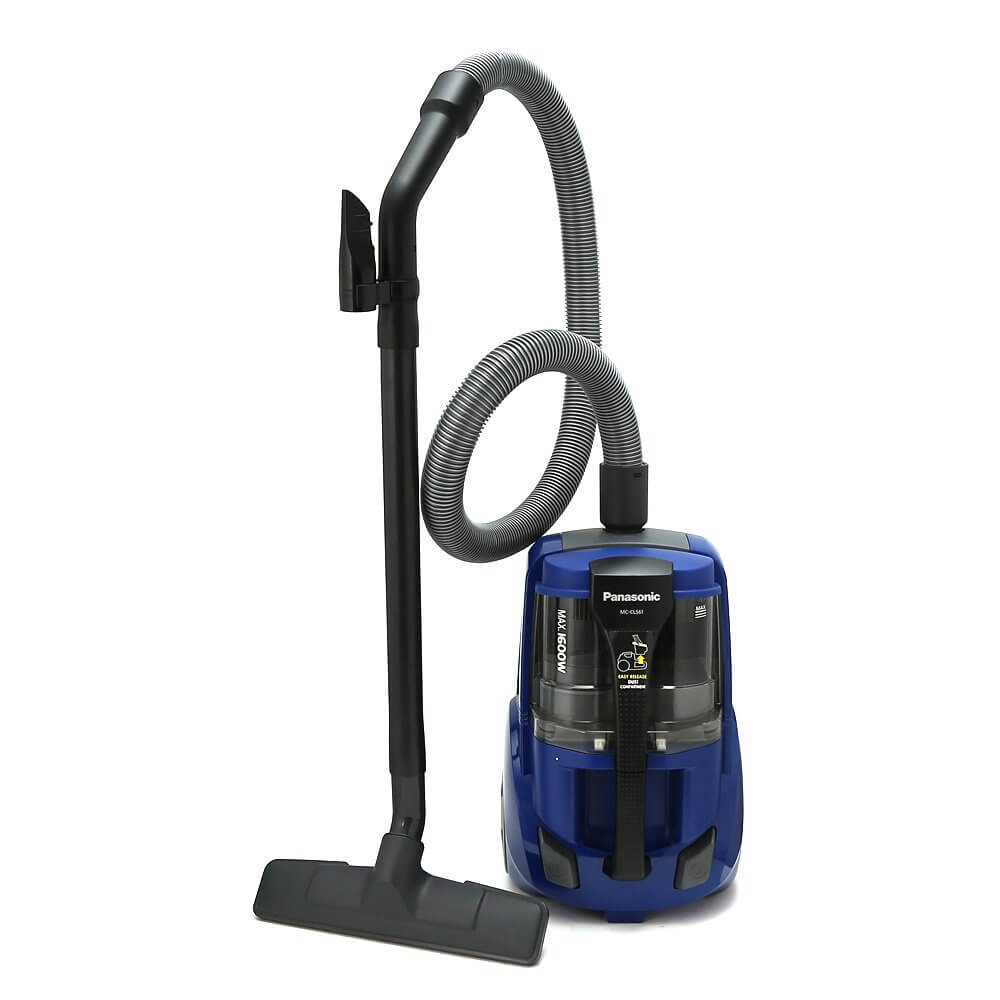 Panasonic MC-CL561A145 1600W 1.2L Canister Vacuum Cleaner with HEPA Filter