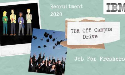 ibm job,IBM Off Campus Drive Recruitment 2020 [ Job For Freshers]