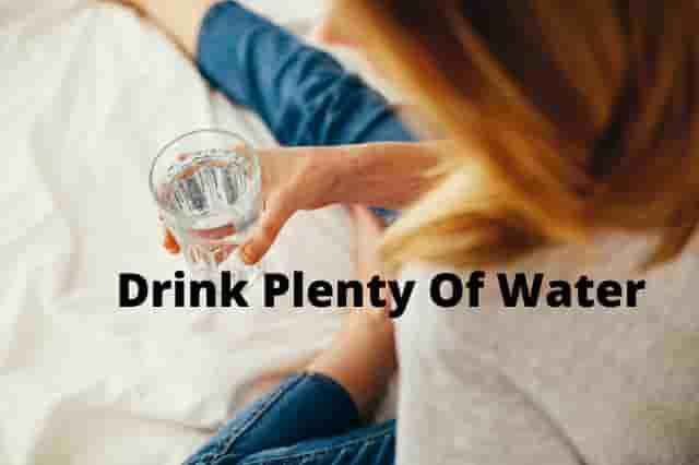 Drink Plenty Of Water When You Are Stuck At Home