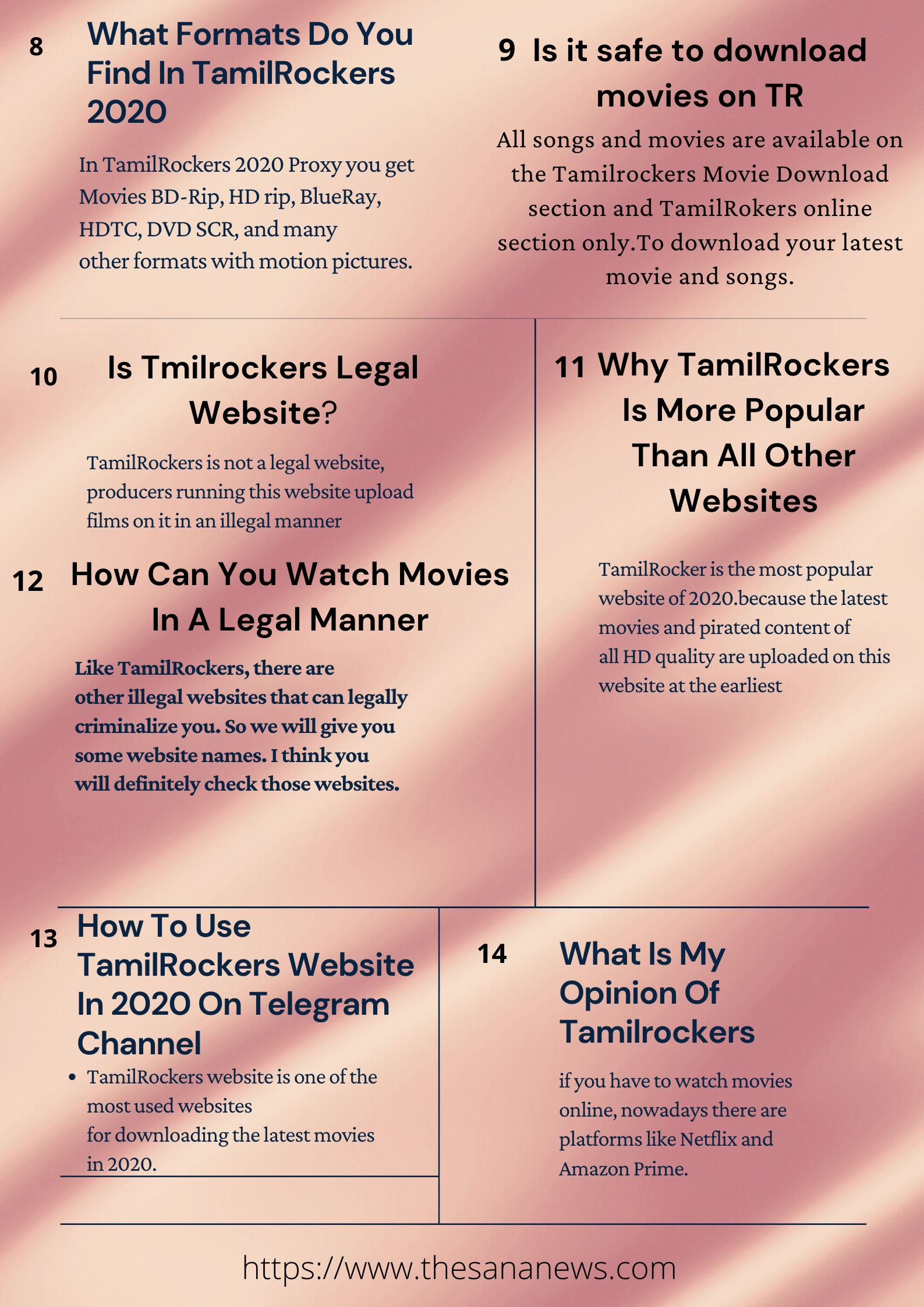 Tamilrockers New Link 2020 Watch HD Movies Online [Latest News]