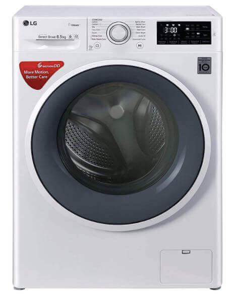 LG 6.5 kg Inverter Fully-Automatic Front Loading Washing Machine (FHT1265SNW)