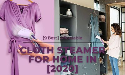 [9 Best] Affordable Cloth Steamer For Home Review In [2020]